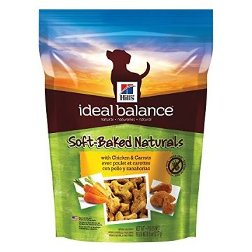 Hill Ideal Balance Natural Dog Treats SoftBaked Naturals with Chicken & Carrots Soft Dog Treats Healthy Dog Treats 8 oz Bag