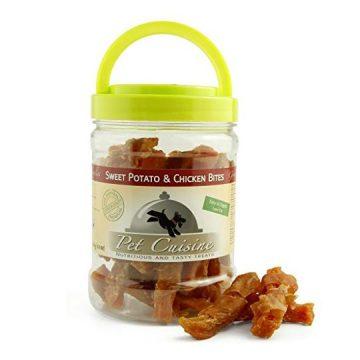 Pet Cuisine Premium Dog Treats Puppy Chews Snacks Sweet Potato & Chicken Bites 12oz