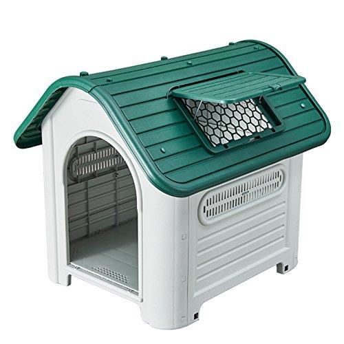 SENYEPETS Plastic Waterproof dog house 35'' pet Kennel