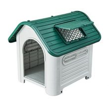 "SENYEPETS Plastic Waterproof dog house 35"" pet Kennel"