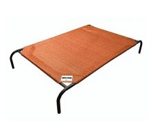 The Original Elevated Pet Bed By Coolaroo  Medium Terracotta