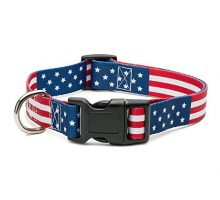 American Flag Dog Collar In 5 different sizes Classic