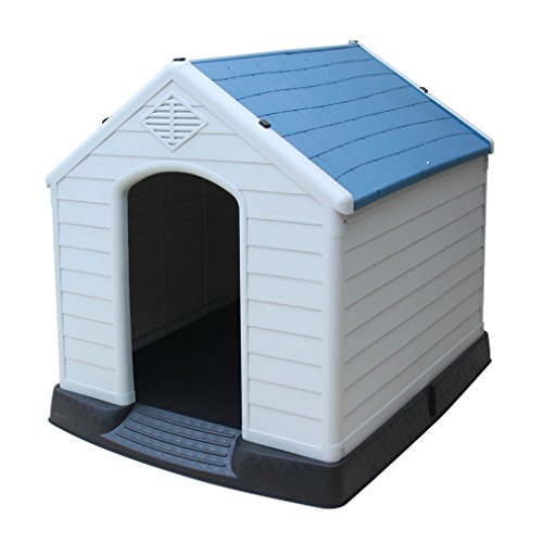 BestPet Extra Large Waterproof Indoor & Outdoor Pet Shelter Plastic Dog Kennel Pet House
