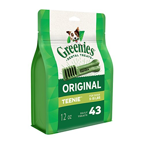Greenies Original TEENIE Dental Dog Treats 12 oz Pack