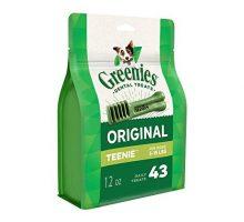 Greenies Original TEENIE Dental Dog Treats 12 oz Pack