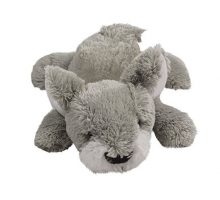 KONG Cozie Buster Medium Dog Toy Grey