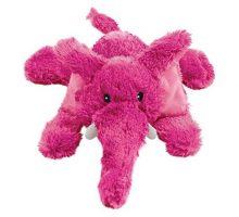 KONG Cozie Elmer the Elephant Medium Dog Toy Pink