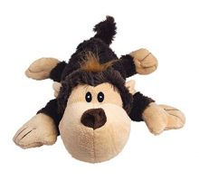 KONG Spunky Monkey Cozie Dog Toy Small