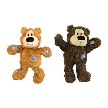 KONG Wild Knots Bears Durable Dog Toys Med Large SizePack of 2