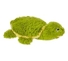 Patchwork Pet 01004 Pastel Tortoise 15Inch Squeak Toy for Dogs