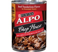 Purina ALPO Chop House Beef Tenderloin Flavor in Gourmet Gravy Wet Dog Food  Twelve
