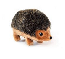 ZippyPaws 9Inch Hedgehog Squeaky Plush Dog Toy Large