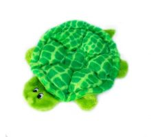 ZippyPaws Squeakie Crawler 6Squeaker Plush Dog Toy Slow Poke The Turtle