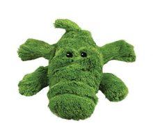 KONG Cozie Ali the Alligator Medium Dog Toy Green