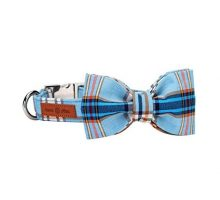 Lionet Paws Dog And Cat Collar With Bowtie Soft And Comfortable Adjustable Collar