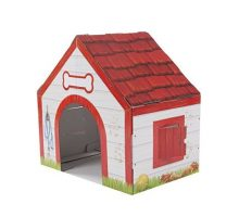 Melissa & Doug Doghouse Plush Pet Indoor Corrugate Playhouse