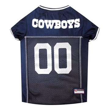 Pets First NFL DALLAS COWBOYS DOG Jersey XSmall