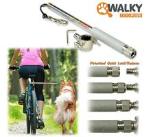 Walky Dog Plus Hands Free Dog Bicycle Exerciser Leash Newest Model with 550lbs pull strength Paracord Leash Military Grade
