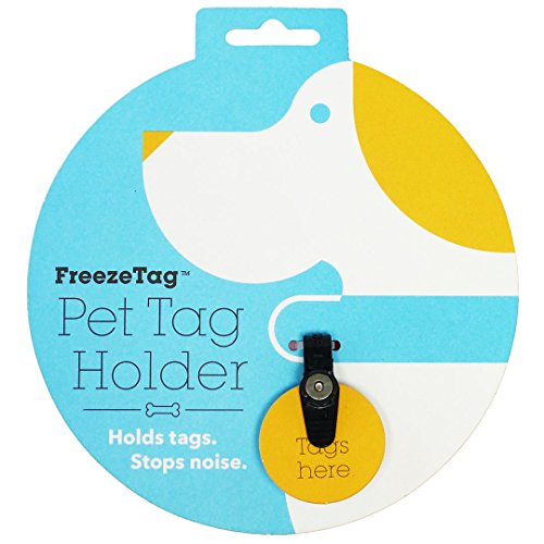 FreezeTag Dog Tag Silencer and Connector One Size Graphite