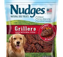 Nudges Steak Grillers Dog Treats 18 oz