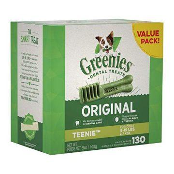 GREENIES Original TEENIE Dental Dog Treats 36 oz Pack