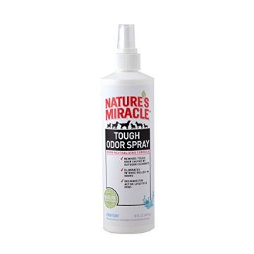 Nature Miracle Tough Odor Spray Fresh Scent 16 fl oz