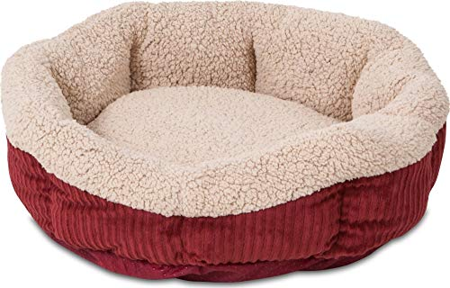 Aspen Pet SelfWarming Corduroy Pet Bed Several Shapes Assorted Colors