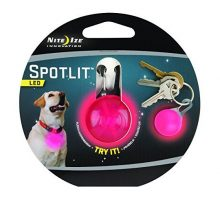 Nite Ize SpotLit ClipOn LED Light with Carabiner Weather Resistant