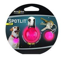 Nite Ize SpotLit ClipOn LED Light with Carabiner Weather Resistant