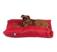 35×46 Red Super Value Pet Dog Bed By Majestic Pet Products Large