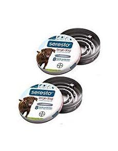 Bayer Seresto Flea and Tick Collar Large Dog 2Pack