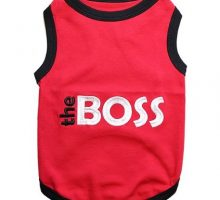 Parisian Pet The Boss Dog TShirt XL