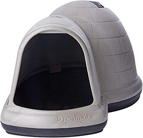 Petmate Indigo Dog House AllWeather Protection Taupe Black 3 sizes Available