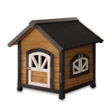 Pet Squeak Doggy Den Dog House Small