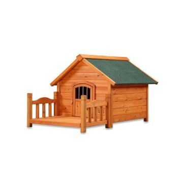 Pet Squeak Porch Pups Dog House Small