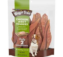 Purina Waggin' Train Limited Ingredient Grain Free Dog Treat; Chicken Jerky Tenders  11 oz Pouch