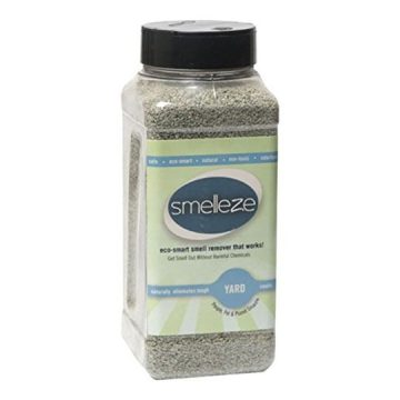 SMELLEZE Eco Yard & Concrete Smell Removal Deodorizer 50 lb Granules Rid Outdoor Odor