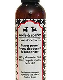 Wolfe & Sparky New!!! Doggy Deodorant s Flower Power! an Organic Natural Deodorant & Deodorizer