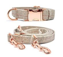 KUYOUGOU Dog Collar and Leash