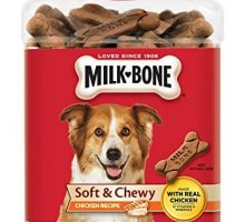 MilkBone Soft and Chewy Chicken Bones Treats For Dogs