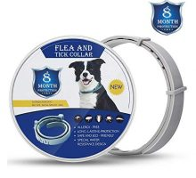 Xawy Flea and Tick Collar for Large and Small Dogs Hypoallergenic Waterproof Tick Prevention and Flea Control Dog Collar for 8 Months of Protection