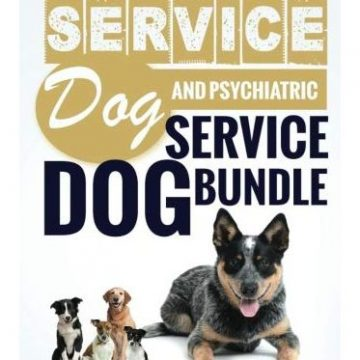 Service Dog Training Your Own Service Dog AND Psychiatric Service Dog BUNDLE!