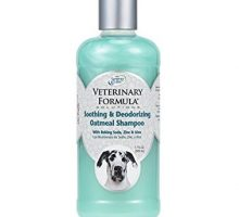 Veterinary Formula Solutions Soothing and Deodorizing Oatmeal Shampoo for Dogs Baking Soda Zinc and Aloe Eliminate Odors Cleanse Hydrate and Heal Skin  LongLasting Fragrance