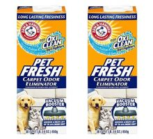Arm and Hammer Pet Fresh Carpet Odor Eliminator Plus Oxi Clean Dirt Fighters 30 ounce