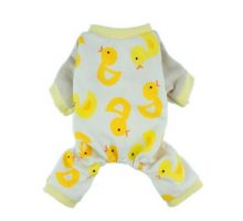 Fitwarm Duck Dog Pajamas Clothes Jumpsuit Medium