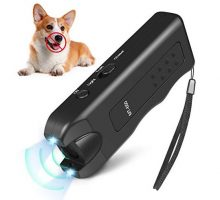 Handheld Dog Repellent Ultrasonic Infrared Dog Deterrent Bark Stopper + Good Behavior Dog Training