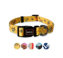 QQPETS Dog Collar Personalized Soft Comfortable Adjustable Puppy Collars for Extra Small Dogs Daily Use Walking