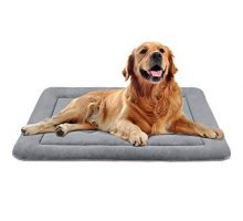 JoicyCo Dog Bed Large Crate Mat 42 in AntiSlip Washable Soft Mattress Kennel Pads