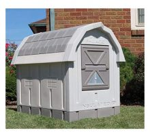 ASL Solutions Dog Palace for Med to Large Dogs  Gray