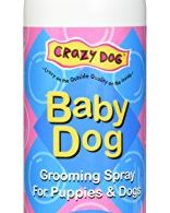 Crazy Dog Baby Powder Grooming Spray 8oz